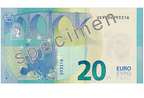 20 euro retro