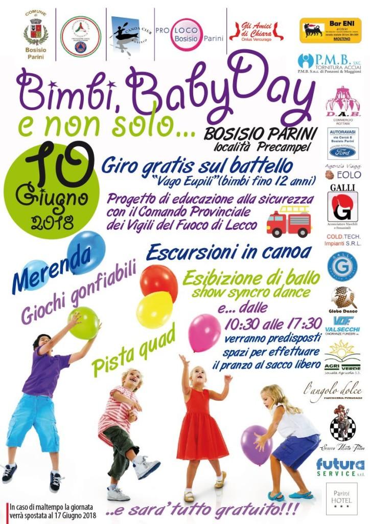 Bimbi, Baby day e non solo...