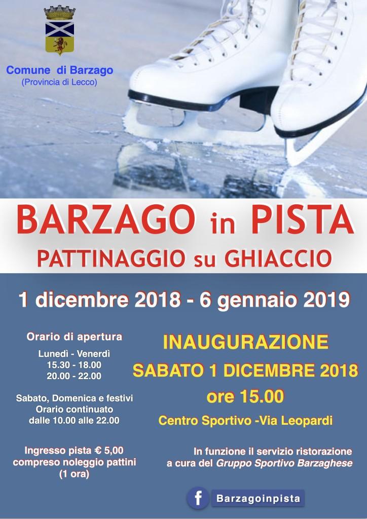 Pista Barzago 2018