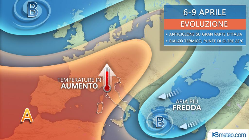 Aprile meteo italia europa